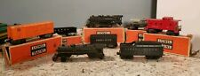 Lionel Toy Train Lot Vintage Locomotive #1110 Lionel Scout Caboose And More