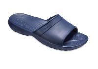 Kids Boys Girls Crocs Classic Sliders Sandals in Navy Blue Beach Sandals