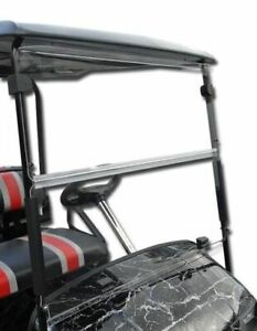 Yamaha G29 Drive Golf Cart (Clear) Folding Flip Impact Modified Windshield