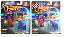 Lot of (2) 1999 SLU Winner's Circle Jeff Gordon NASCAR Series 1 Figures