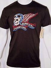 Denim Supply Ralph Lauren men's skull aviator graphic print t-shirt size xxl
