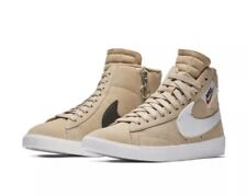 NEW Sz 10 Women s Nike Blazer Mid Rebel Bio Beige Summit White BQ4022-200 22c0832a5