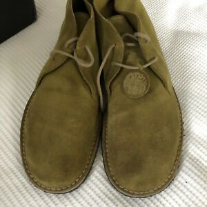 Pretty Green Clarks Originals Suede Desert Boots Mens Shoes 9.5 UK