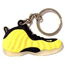 AIR FOAMPOSITE ONE PRO WU TANG YELLOW ELECTROLIME OG SNEAKER SHOE KEY CHAIN RING