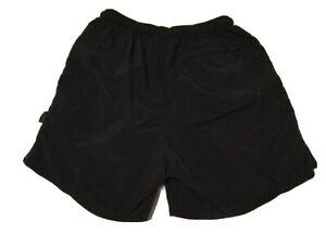 Vintage REI Women's Shorts Baggies Nylon Black Size Medium Style 115299