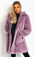 IKRUSH Womens Betty Teddy Bear Coat