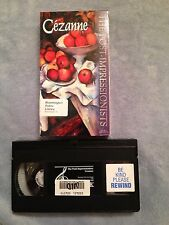 Cezanne / The Post Impressionists - VHS Video Tape - Documentary - Painting