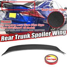 For LEXUS IS200t IS250 IS350 F Sport 2014-2019 Carbon Fiber Trunk Spoiler Wing