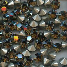 1028 39 BS*** 6 STRASS SWAROVSKI FOND CONIQUE SS39(8,3mm) BRONZE SHADE F