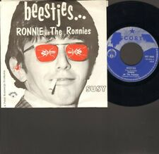 "RONNIE & en The Ronnies BEESTJES 7"" SINGLE Oh Susy 1967 NEDERPOP Peter Koelewijn"