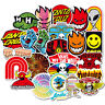 100pcs Brand Car Luggage Skateboard  Decals Personality Graffiti Laptop Stickers