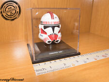 COMMANDER THIRE STAR WARS HELMET CASCO CASQUE 1/5 MINT WITH CASE!!