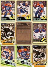 2012-13 OPC O-Pee-Chee Edmonton Oilers Complete Team Set w/ Stickers (28)