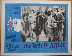 Sexist Movie 1965 Lobby Card: The Wild Affair w/Nancy Kwan, Terry Thomas
