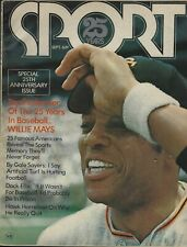 September 1971 Sport Magazine 25th Anniversary Issue - Willie Mays Joe DiMaggio