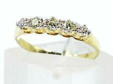 Beautiful 18ct Yellow Gold & Diamond Ring Yellow Diamond Wedder/Engagement Ring