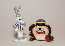 Bugs Bunny & Taz Football Salt & Pepper Shakers