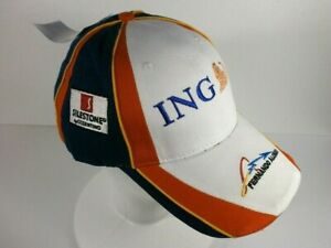 OFFICIAL FERNANDO ALONSO ING 2008 FORMULA 1 F1 BASEBALL CAP HAT BNWT COLLECTORS