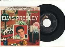 ELVIS PRESLEY ELVIS SINGS CHRISTMAS SONG EPA RECORD CARDBOARD PICTURE SLEEVE USA