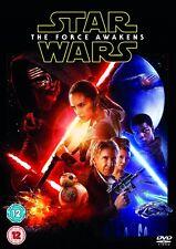 STAR WARS 7 (2015) - VII - THE FORCE AWAKENS - Rey + Kylo Ren - UK DVD not US