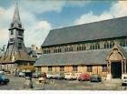 HONFLEUR 1139 l'église sainte-catherine et son clocher voitures
