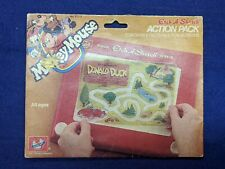 Disney Mickey Mouse Pluto Etch a Sketch Action Pack 1982 6 Fun Screens