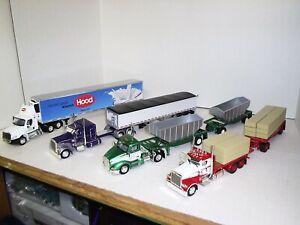 1/53 Set #12 - Includes 4 Die Cast Tonkin Replica Trucks - Details in Listing