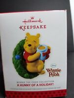 Hallmark Keepsake Winnie the Pooh Ornament a Hunny of a Holiday 2013 Disney