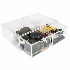 Sorbus Makeup Storage Case X-Large Display  Drawers are Stackable Detachable