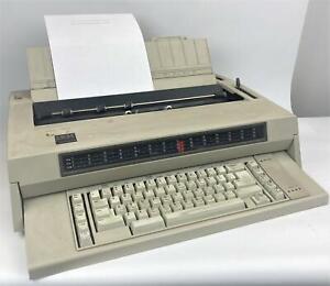 IBM Wheelwriter 3 Electric Typewriter TESTED & WORKING