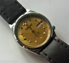 Smart Vintage Smaller Face CITIZEN Men's Automatic Wristwatch. Unusual Design.