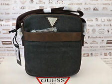 GUESS Small Crossbody Bag Men's HM312 Urban Safari Black Bags Case BNWT RRP£59