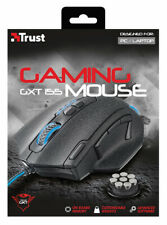 TRUST GXT 155 Gaming Mouse - Black 20411 TRUST