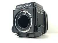[Near Mint] Mamiya RB67 Pro Body + Waist Level Finder 120 Film Back from JAPAN