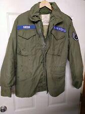 Vintage US Air Force M65 Cold Weather Field Jacket OG-107 SMALL Regular