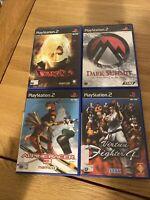 Playstation 2 Game Bundle X4 Virtua Fighter
