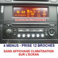 Peugeot 407 Ecran D'Affichage, Rd4 Radio LCD Multi Fonction
