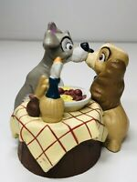Disney Store Lil Classics Lady and the Tramp Kissing Spaghetti Scene Figurine