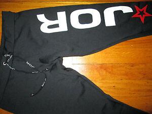 JOR Fitness Legging Pant with Jor Logo Black (Medium)