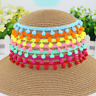 10MM 20Yards/Lot PomPom Trim Ball Fringe Ribbon DIY Sewing Lace Home Party Decor