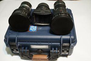 LOMO anamorphic set 35mm/50mm/75mm,  BAS22-2 +BAS23-2 +BAS10-2