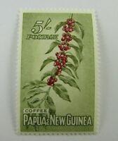1958 Papua & New Guinea SC #142 COFFEE  MH stamp