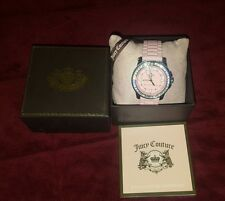 Juicy Couture Ladies watch- very cute light pink color with bling!! EUC