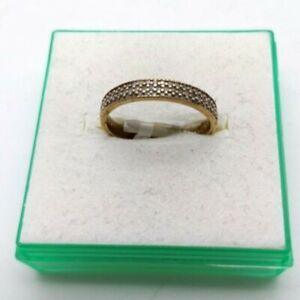 Beautiful ladies Half Enternity Ring, size P