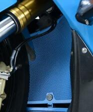 R&G LIGHT BLUE RADIATOR GUARD for BMW S1000RR, 2015 to 2018