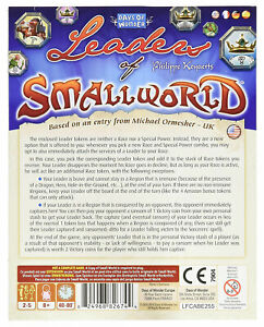 Small World: Leaders of Small World SEALED UNOPENED FREE SHIPPING