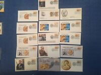 16 Nobel Prize FDC - great mix