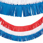 Patriotic Fringe Garland - Party Decor - 3 Pieces