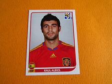 568 ALBIOL ESPAÑA ESPAGNE PANINI FOOTBALL FIFA WORLD CUP 2010 COUPE DU MONDE
