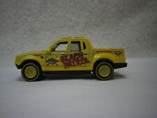 Matchbox Yellow Ford Explorer Sport Trac Rescue Hot Wheels Custom Real Riders